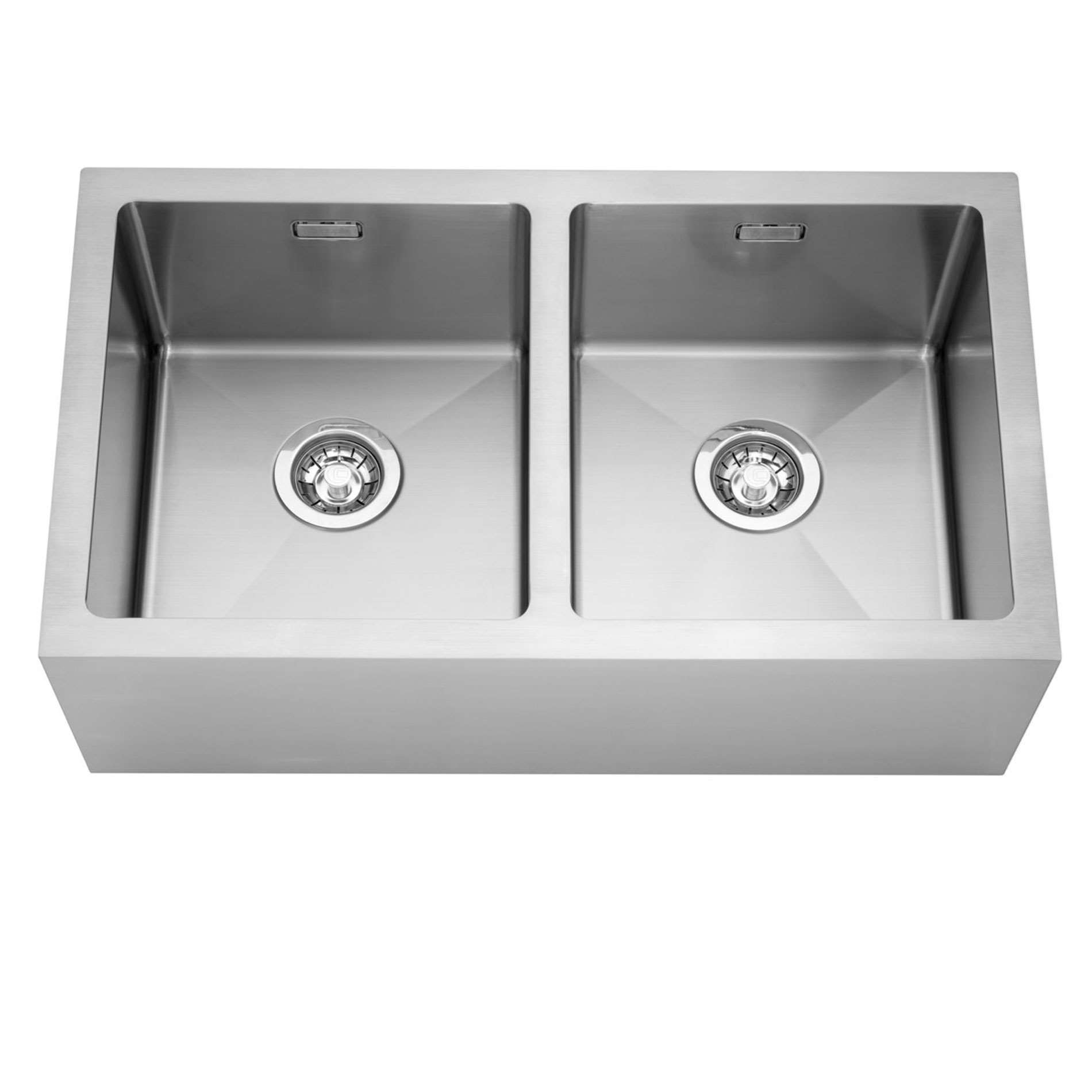 caple double belfast stainless steel sink