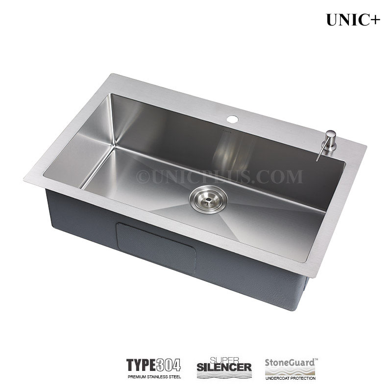 cheap kitchen sinks fire extinguisher for 30 inch small radius stainless steel top mount sink ktr3021 in vancouver