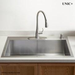 30 Kitchen Sink Cabinets Organization Inch Zero Radius Stainless Steel Top Mount Kts3021in Vancouver