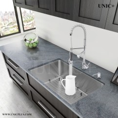 27 Kitchen Sink Hansgrohe Talis C Faucet Inch Small Radius Style Stainless Steel Under Mount Kur2718 In Vancouver