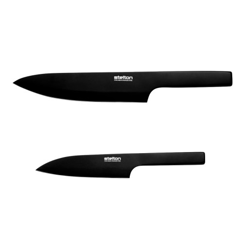 Stelton - Norstaal Pure Black Chef Knives 1