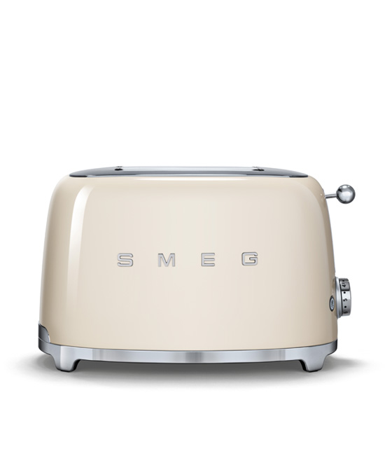 Smeg - Toaster - 2 slice - Cream 2