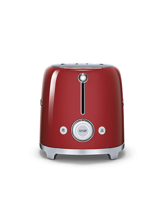 Smeg - Toaster - 2 slice - Red 4