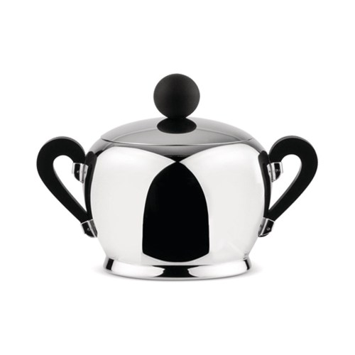 Officina Alessi - Bombé Sugar Bowl Stainless Steel 1
