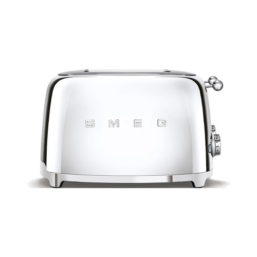 Smeg - Toaster - 4 slots - Chrome