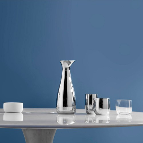 Stelton - Foster water glass - Foster wineglass - Foster carafe with stopper - Foster sugar bowl - Foster tumbler