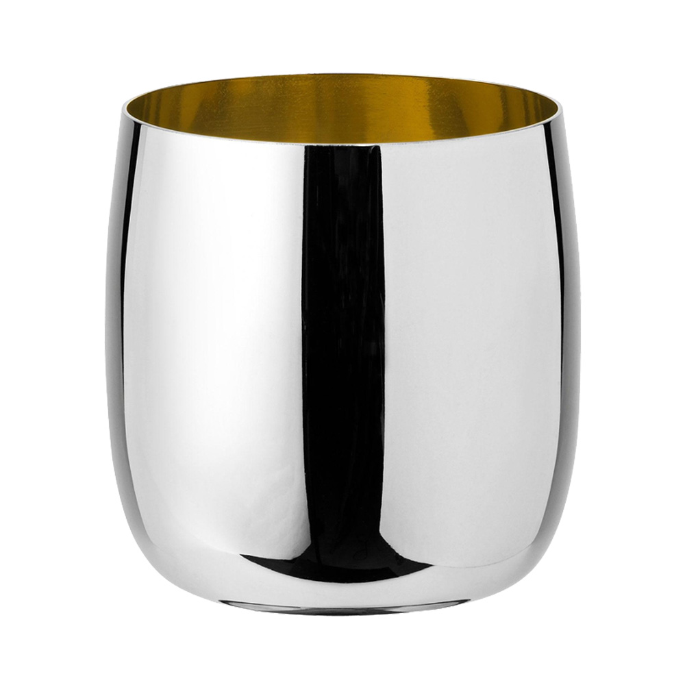 Stelton - Foster wine glass steel golden