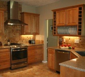 alderwood cabinets