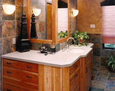 Slate Bathroom Designs