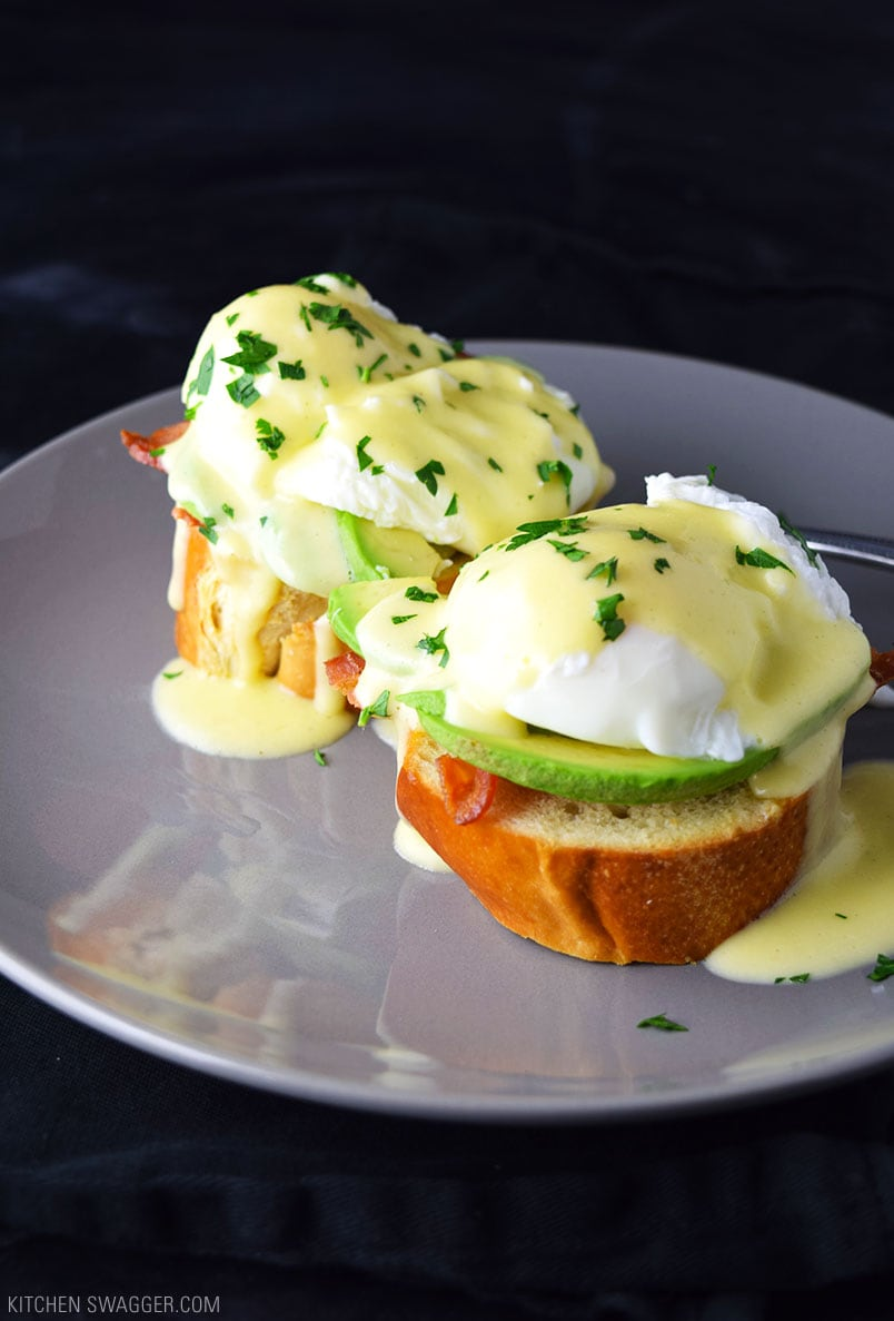 ready made island for kitchen big sinks eggs benedict with avocado recipe | swagger