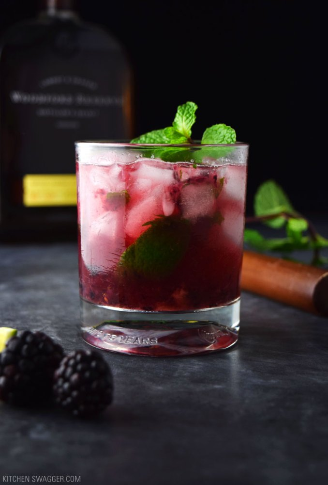 Blackberry Bourbon Smash Recipe | Kitchen Swagger