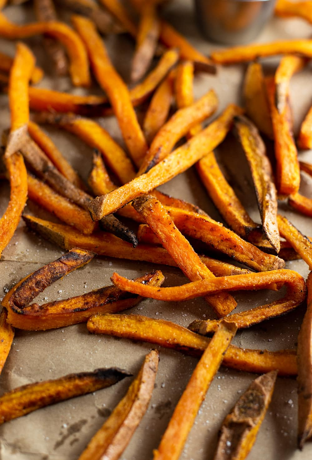 If you buy from a link, we may earn a commiss. Baked Sweet Potato Fries Recipe Kitchen Swagger