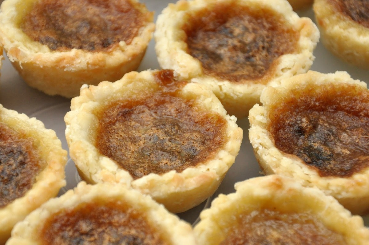 Nova Scotia Butter Tarts, by Aunt Joanie