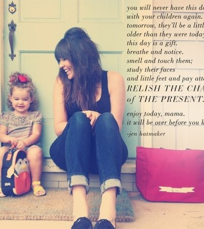 Dear Younger Me, (An Encouragement to Younger Moms)