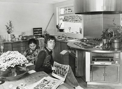 Celebrity Kitchens Rolling Stones John Lennon  Elvis