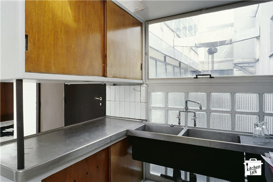 pegboard kitchen best sink faucets le corbusier & charlotte perriand kitchens | talk blog