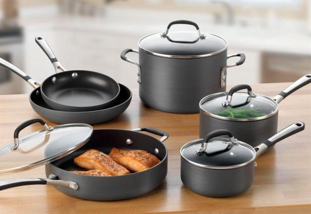 Simply Calphalon Nonstick 10 Piece Set