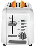 Chefman RJ31-SS Stainless 2-Slice Toaster, Silver