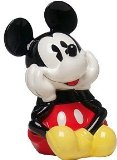 Auth. Disney Pie-Eyed Mickey Mouse Cookie Jar Container