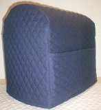 Quilted Kitchenaid Tilt Head Stand Mixer Cover (Navy Blue)