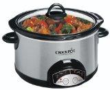Crock-Pot SCRP500-SP 5-Quart Smudge Proof Slow Cooker