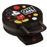 Disney DCM-32 Mickey Mouse Waffle Maker, Black