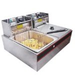 Yescom Commercial 12L 5000W Stainless Steel Electric Countertop