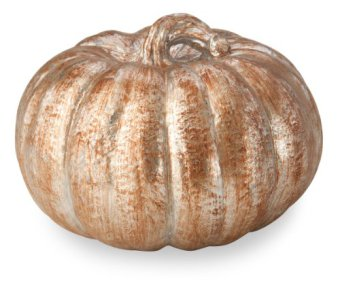October Hill Metallic Patina Pumpkin of Mine Decoration