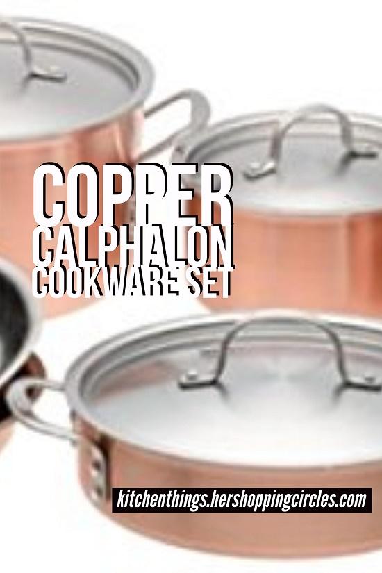 copper calphalon cookware set - Calphalon Cookware Set