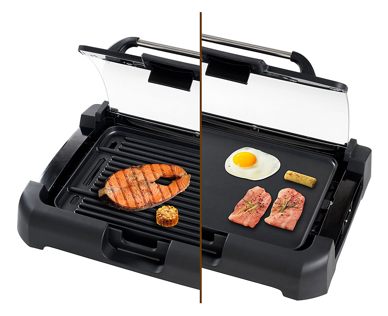 Secura GR1503XL 1700W Electric Reversible 2 in 1 Grill