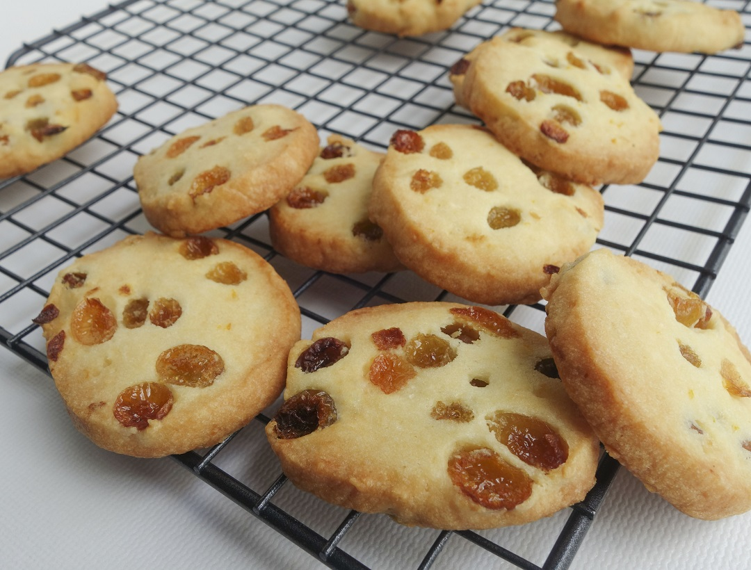 Rum & raisin cookies