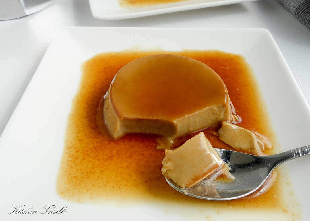 Coffee caramel custard - a delicious, creamy addictive gluten free dessert recipe loved by families and friends.