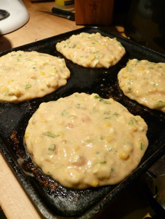 Step 5: Cook on griddle