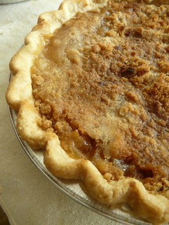 A personal favorite - French Pear pie with ginnger