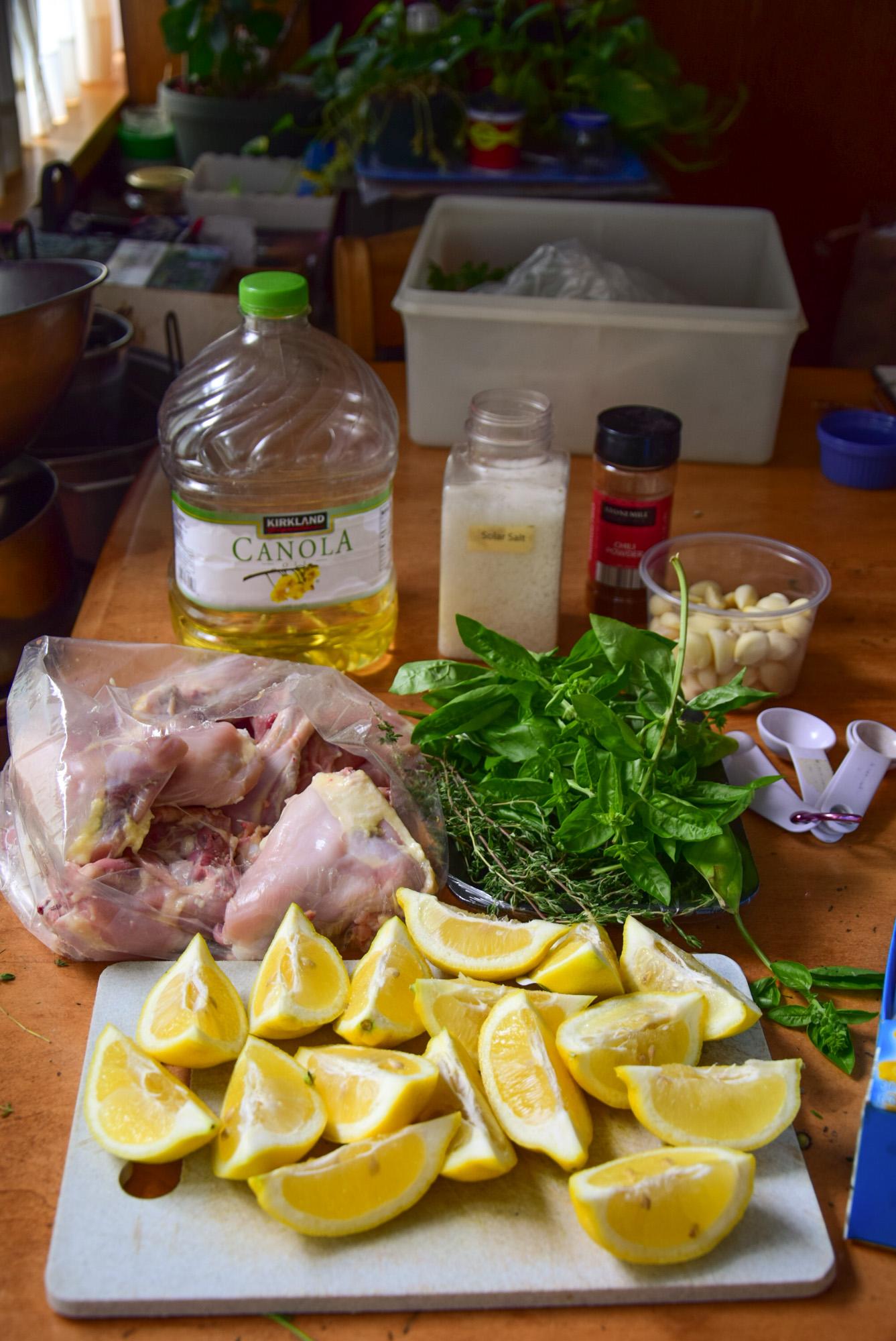 Lemon-Herb Marinated Chicken