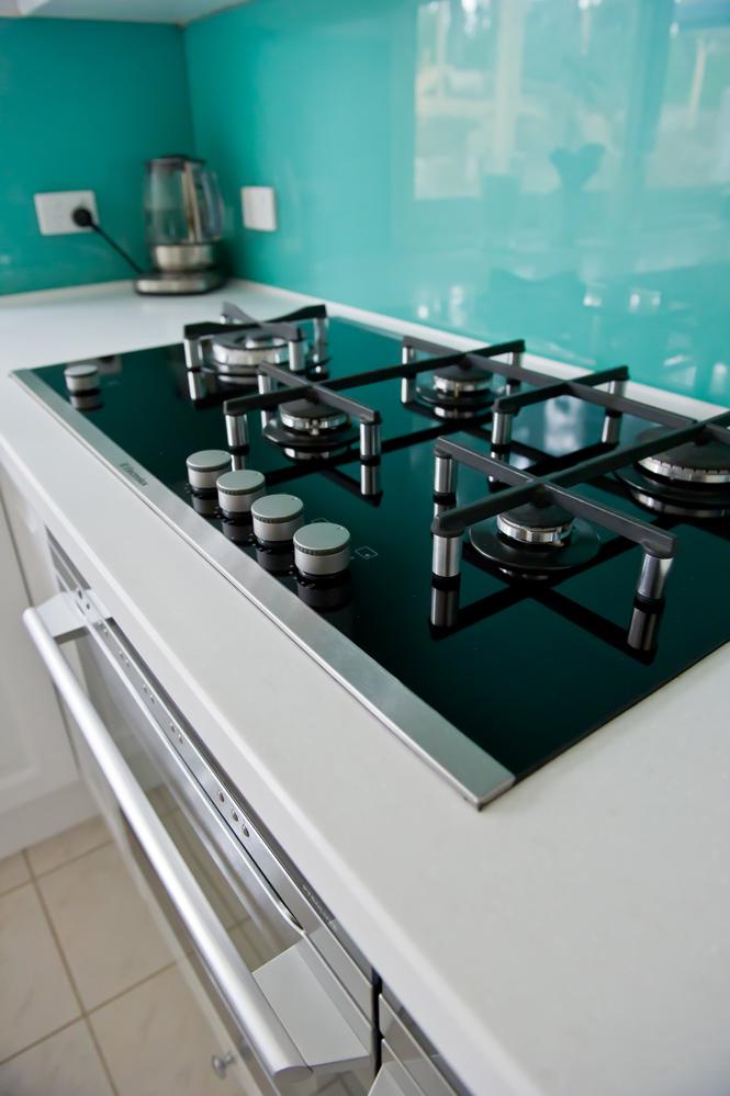 Kitchen renovationaqua splash  Kitchen Update
