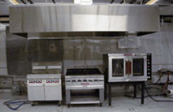 Commercial Kitchen Ventilation Test Lab