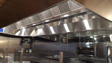 Cfm and static pressure in Commercial Kitchen Ventilation