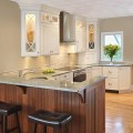 Kitchen seating and island countertop overhangs kitchen views blog