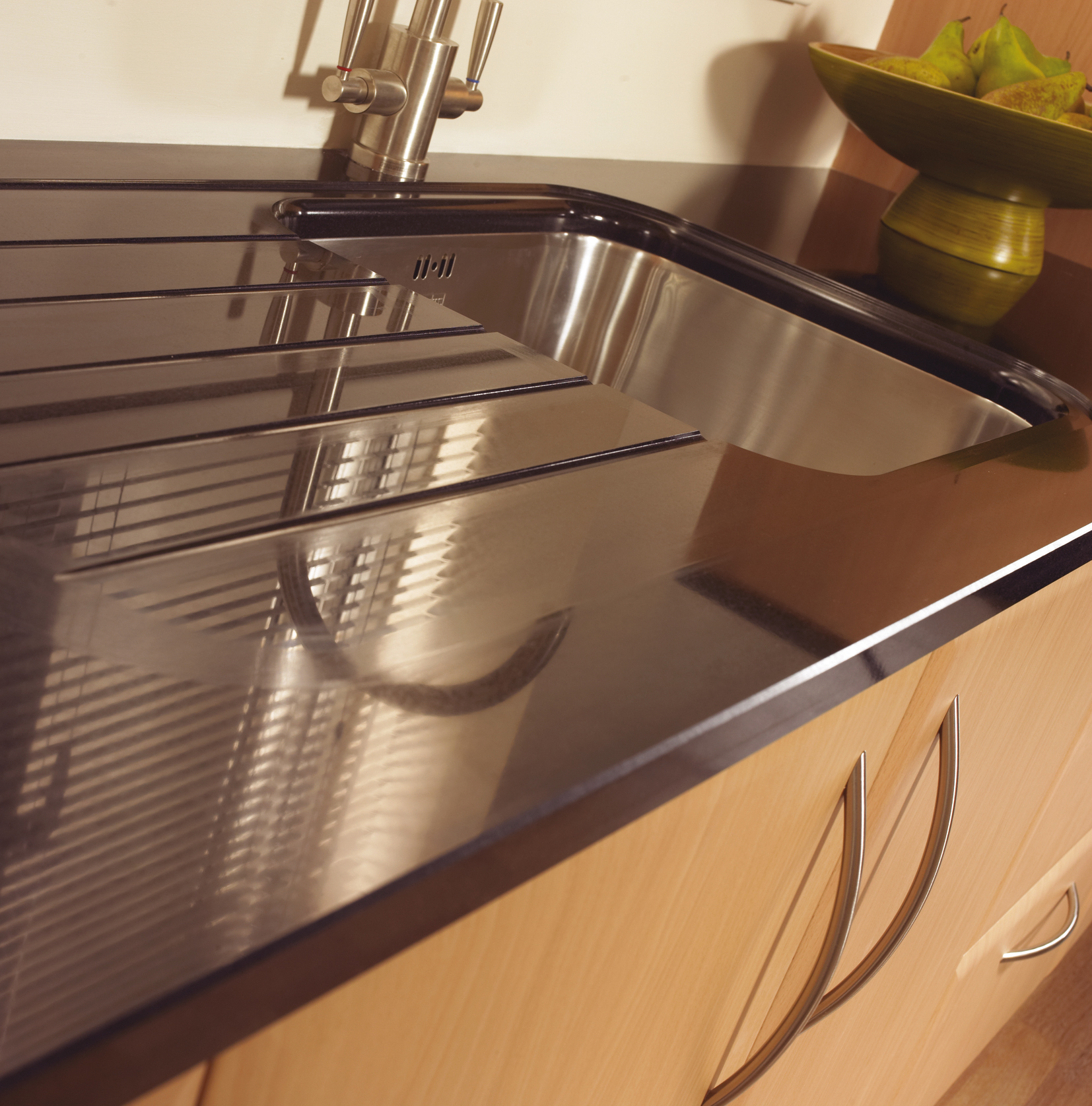 how to make a stainless steel sink