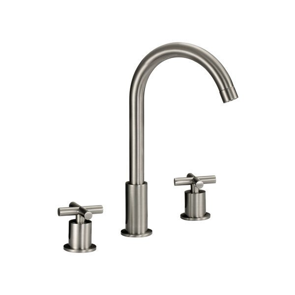 lottare 800130 two handle stainless steel bathroom faucet brushed nickel or chrome