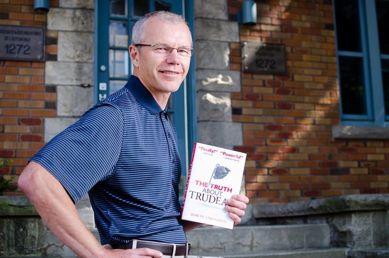 Bob Plamondon: Nation builder, truth teller. Photo by Ted Simpson