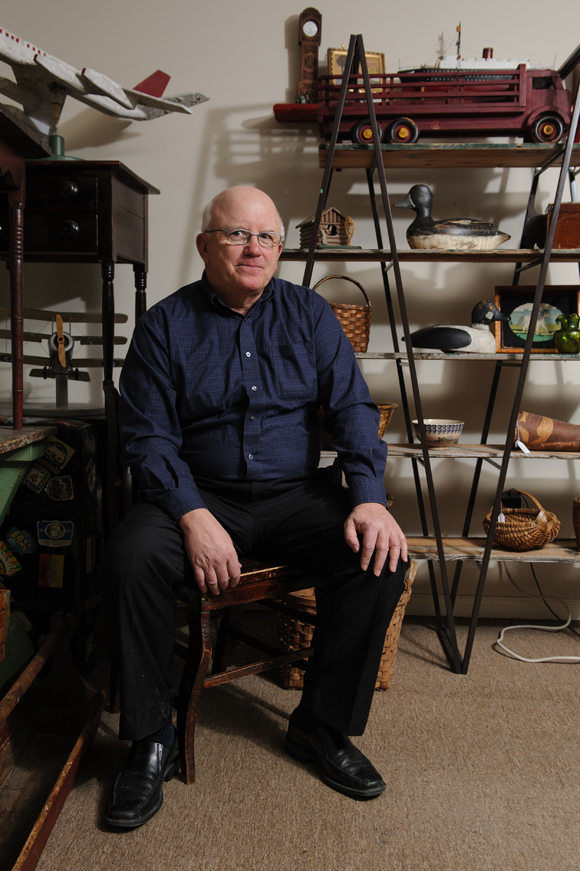Shaun Markey began collecting and selling antiques in 1981, and he hasn't stopped since. Photo provided by Shaun Markey.
