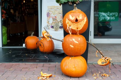 Here's the scariest pumpkin, courtesy of Cuckoo's Nest!