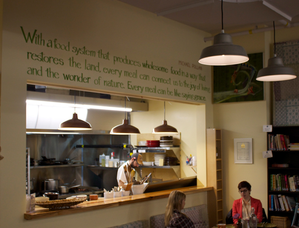 The West End Well is one of the newest additionsto the Kitchissippi food scene. Photo by Jeff Willey