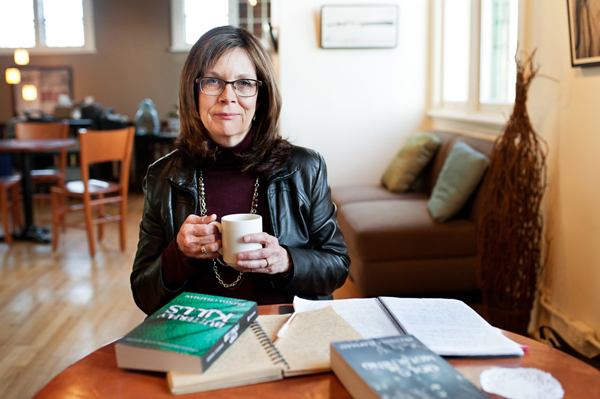 The launch of Brenda Chapman's latest book is taking place Feb. 8 at Whispers (249 Richmond Rd.). Photo by Kate Settle.