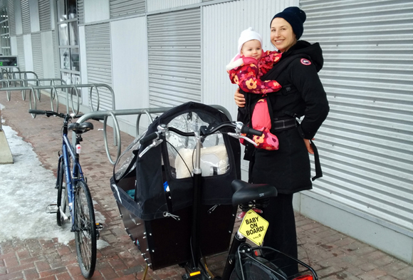 Opinion: Winter cycling as a family in Kitchissippi and beyond