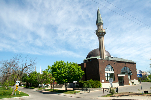 Ottawa Main Mosque. Photo by Andrea Tomkins