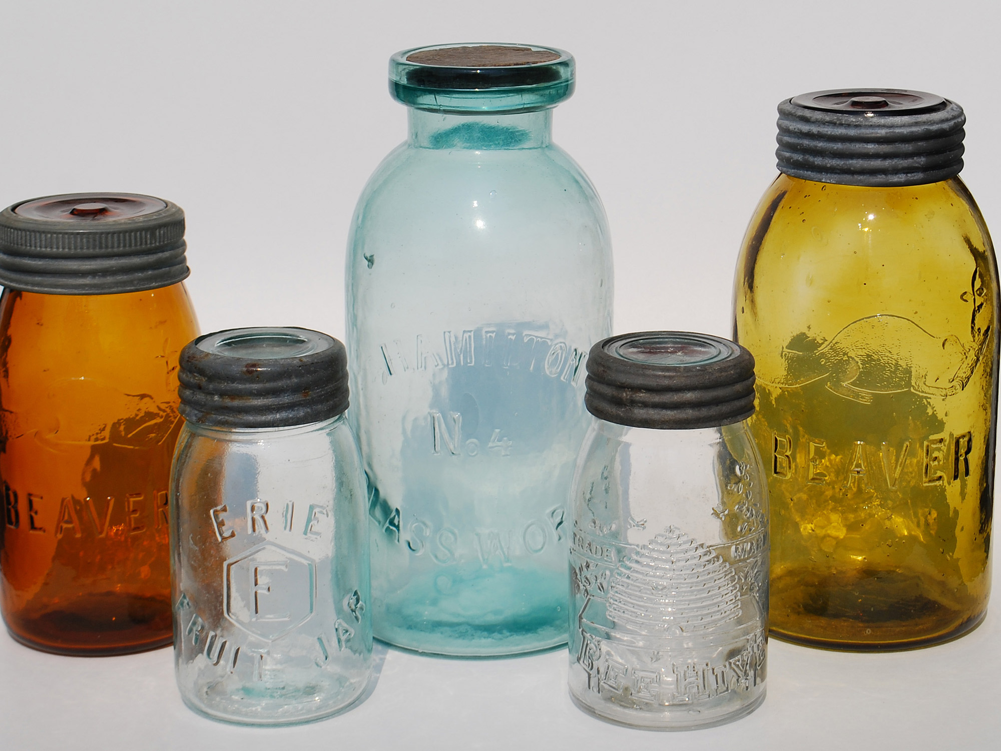 Mason jars rare 5 Most