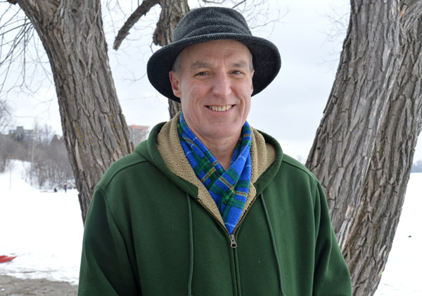 """Peter Bruton lives in the Westboro Beach area and volunteered to organize this year's carnival. He says the heavy use of social media on this event made the crowd much bigger than it had been years before. """"We're getting a lot of people who wouldn't usually show up. Someone called this morning from South Keys."""""""